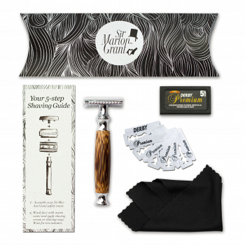 Sir Marlon Grant: Bamboo Shaving Set