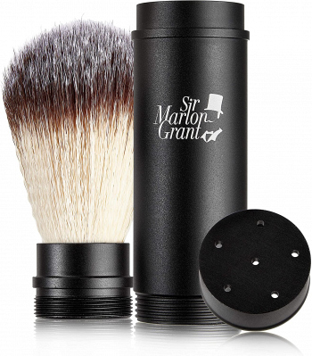 Sir Marlon Grant: Vegan Travel Shaving Brush